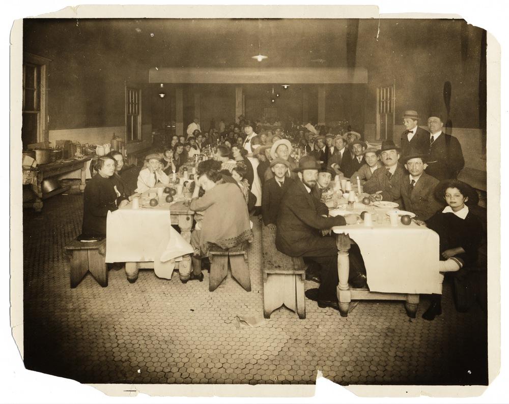 Seder at Ellis Island<br /> <br />