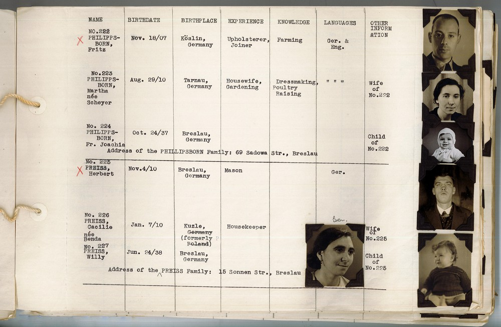 Profile Book of Oppressed German Jews