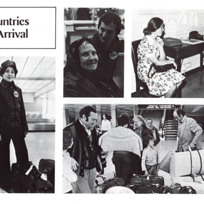 Soviet Jews Arriving in the United States