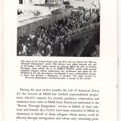 Aided by HIAS-ICA, Refugees Leave Lisbon