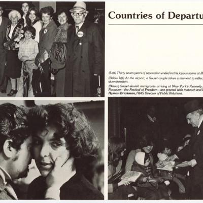 Soviet Jews Arriving in America