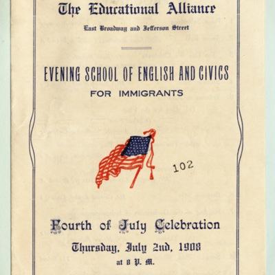 Fourth of July Celebration Program