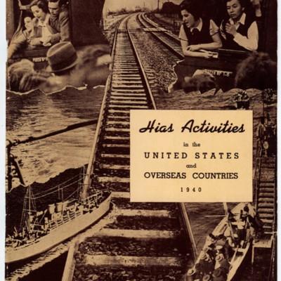 1940 HIAS Actitives
